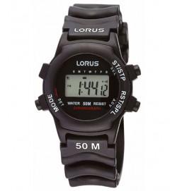 Lorus Digitaal Horloge Zwarte Band - R2365AX9