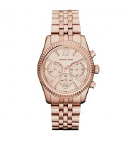 Michael Kors Lexington Silver Tone Chronograph Watch MK5569