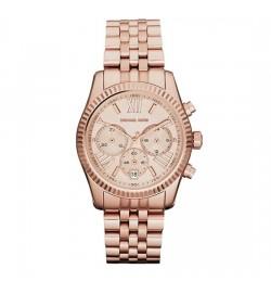 Michael Kors Lexington Silver Tone Chronograph Watch MK5569